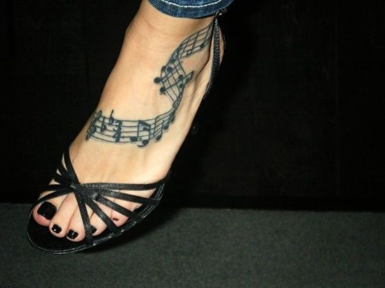 I really like that music design for the foot...