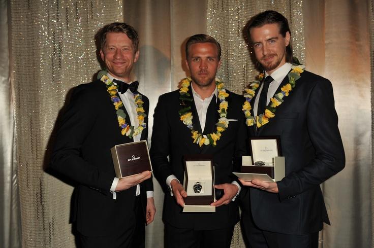 Odd-Magnus Williamson, Tobias Santelmann, Pal Sverre Hagen