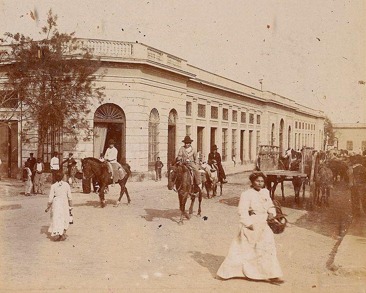 1890's Corrientes. Mercado