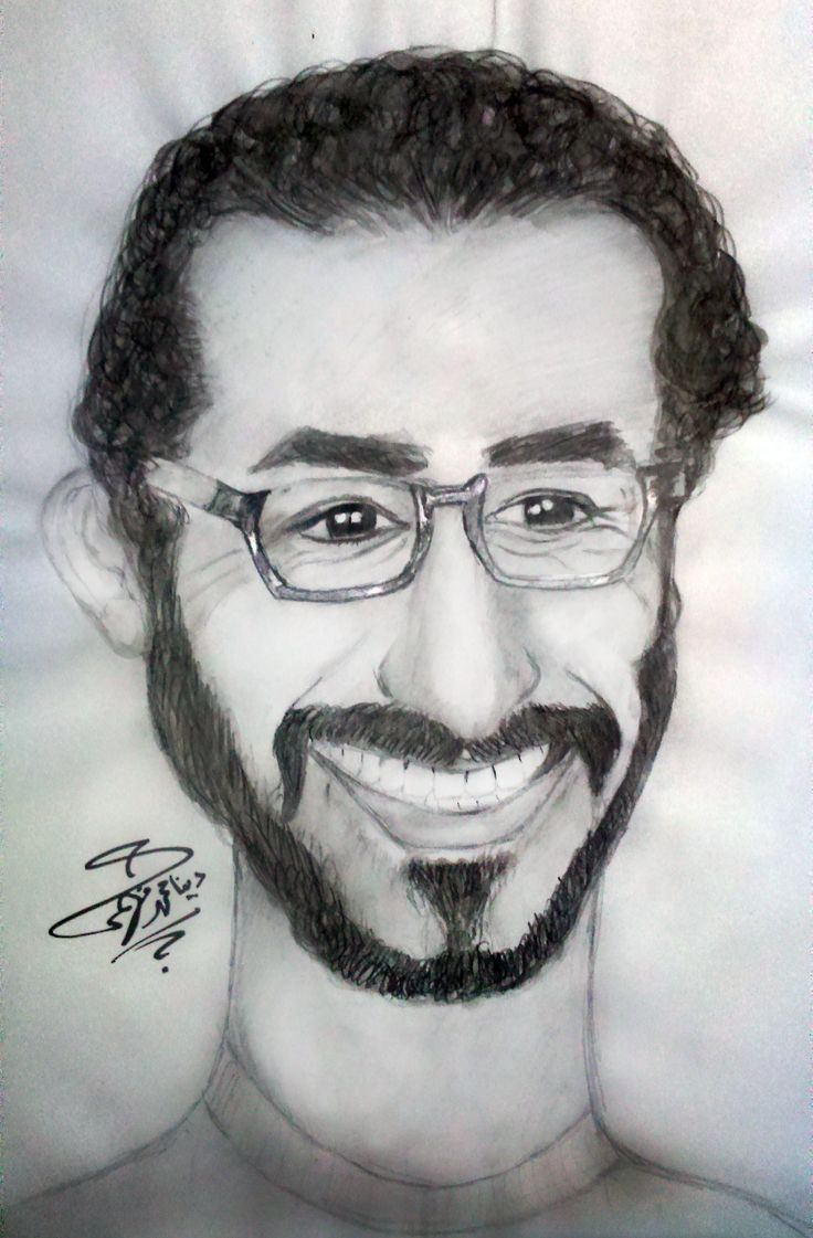 Ahmed helmy caricature