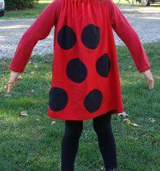 Quick and Easy Ladybug Costume