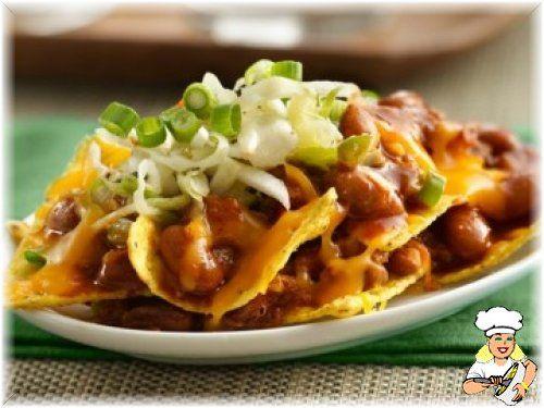 Barbekü Soslu Nachos - lezzetler.com Yemek Tarifleri