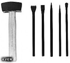 Buy Tools/Supplies - Stone Carving Tools - BAZ Basic Stone Carving Set - Sculpture House Casting