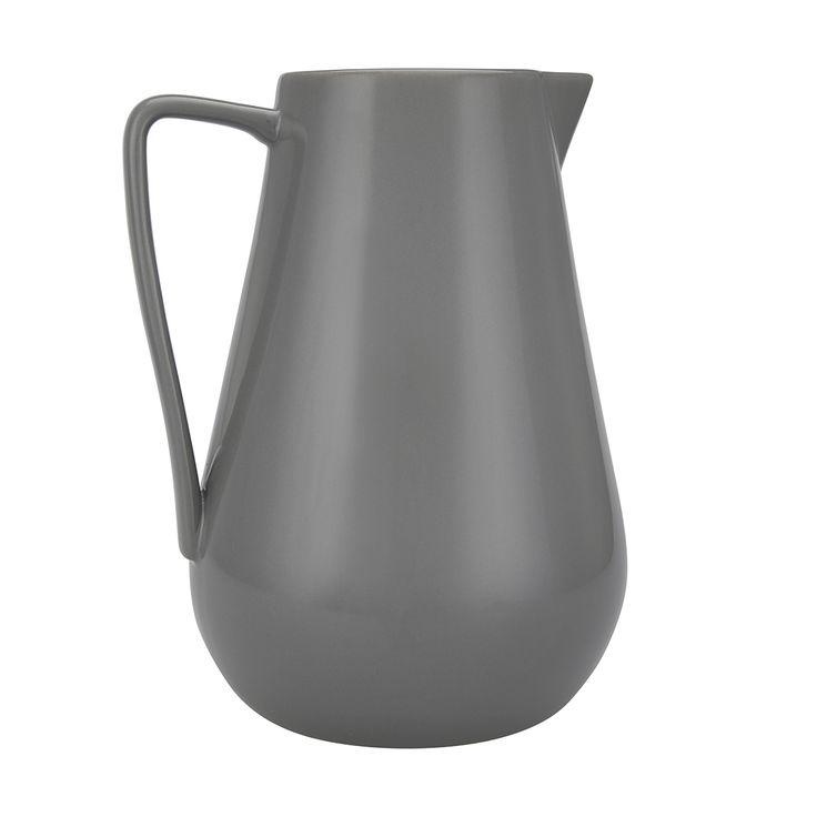 Ceramic Jug - Grey   Kmart