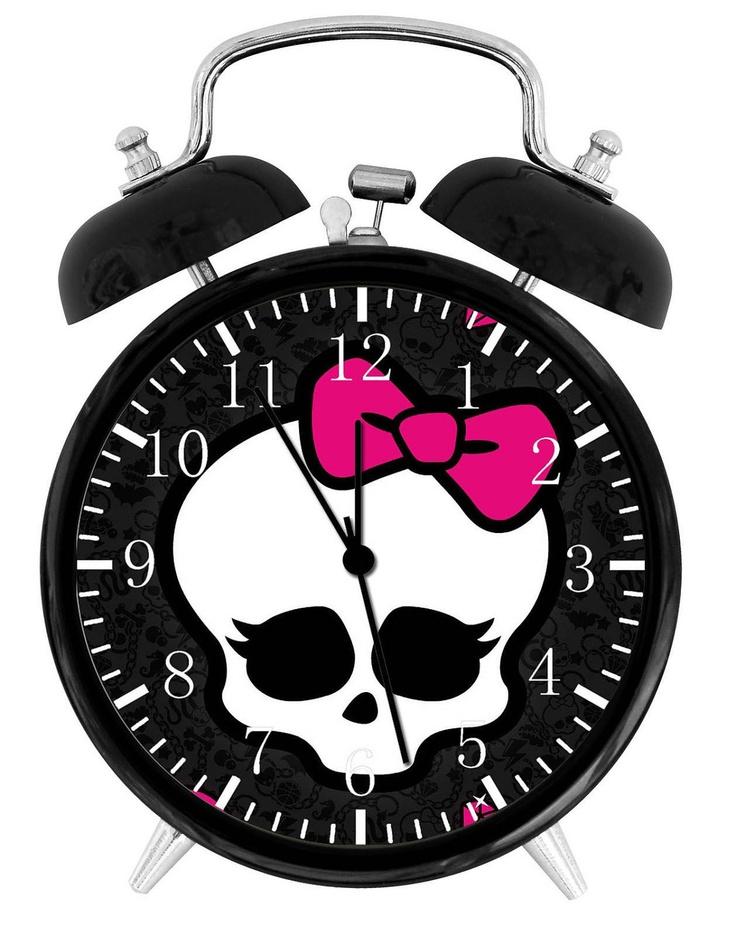Decorative Bedroom Alarm Clocks: 46 Best Images About Monster High Bedroom On Pinterest