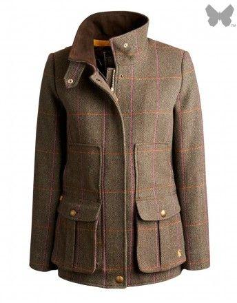 Joules Ladies' Tweed Fieldcoat – Hardy Tweed