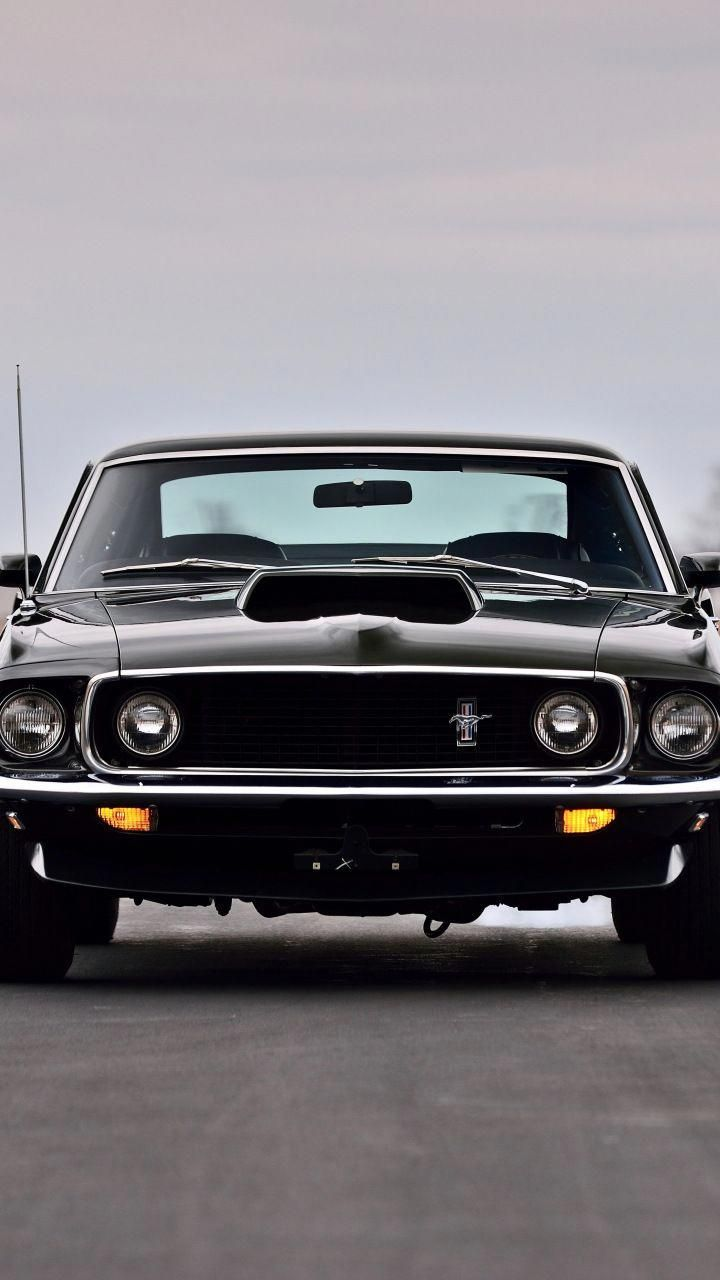Ford Mustang Boss 429 Fastback 1969 Muscle Car 720x1280