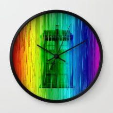 Tardis full colour Wall Clock