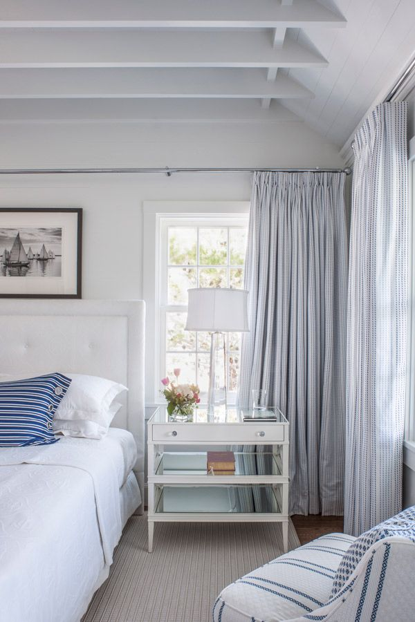 bedroom seaside avenue residence seaside florida by curtis windham architects lookbook - Blue And White Bedroom Designs