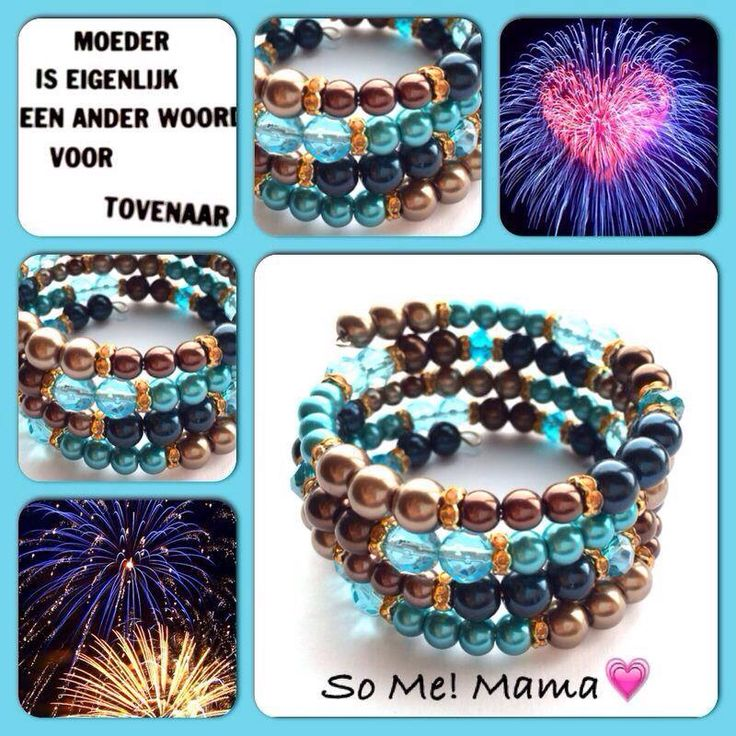 Mama! Moderne, mooie zelfgemaakte armbanden, glas parels, glas kralen , Memory wire, http://some-accessoires.nl