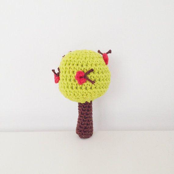 Crochet Apple Tree Rattle Pattern  English by annemariesbreiblog, €2.00