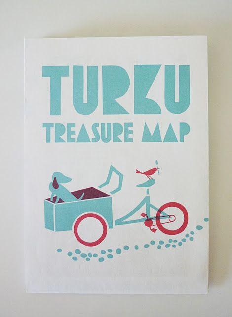 Turku Treasure Map 2012