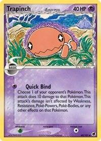 Trapinch (69 - Delta Species), Pokemon, Dragon Frontiers
