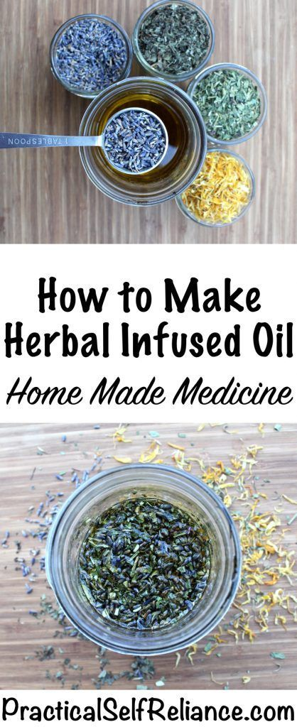 How to Make a Herbal Infused Oil