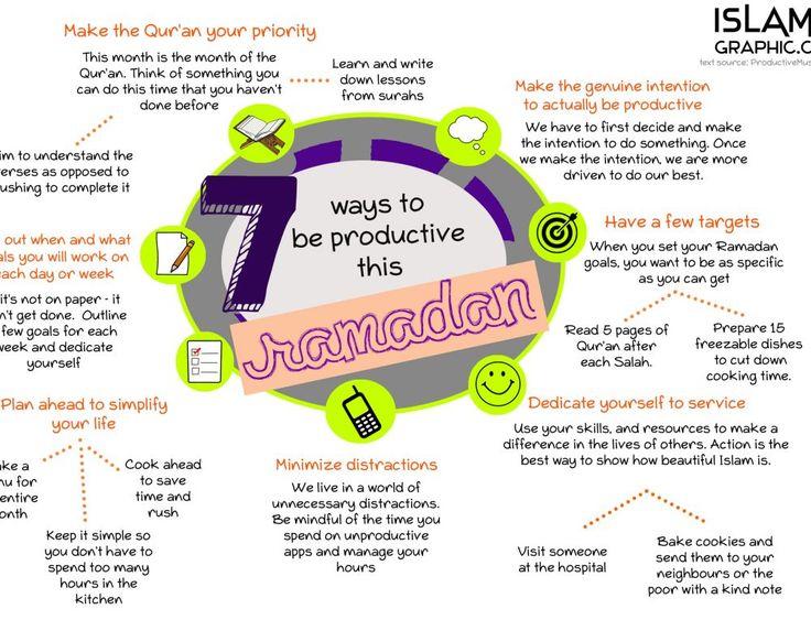 7 Ways To Be Productive This Ramadan