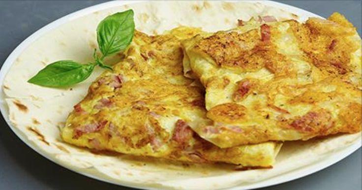 Это тот вариант блюда, когда нужно приготовить быстрый и вкусный завтрак на скорую руку
