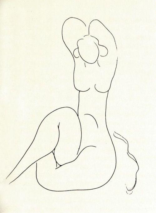 "henri matisse - from ""mallarme"" (1932)"