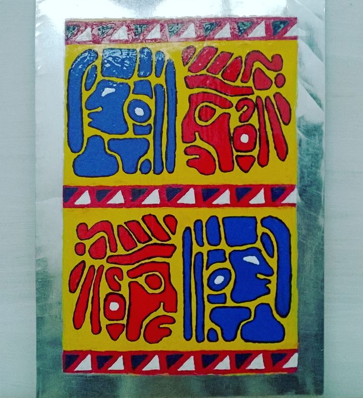 Late post masih dengan tugas Ornamen  #drawing #painting #lukis #lukisan #modifikasi #custom #ornament #ornamen #mayan #sukumaya #maya #cat #catminyak #kanvas #homework #kampus #college #ISBI #tanahpapua #institutsenibudayaindonesia #art #artwork #amateur #sengplat #antimainstream