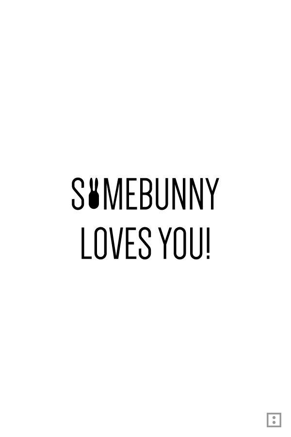 Heute ist es soweit. Es ist Ostern. Zeit für´s entspannte Nichtstun. ... Somebunny loves you... Frohe Ostern!