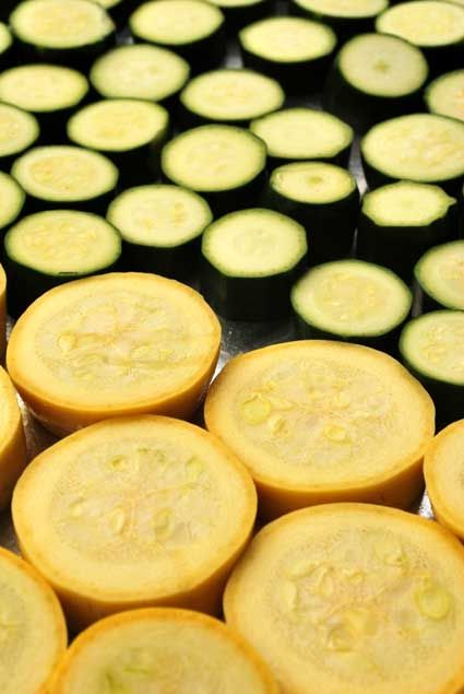 This roasted summer squash recipe is beautiful, healthy, and cooks up in your oven or on the grill. Make it a part of your summer barbecue plans--and don't forget some wine to go with it!