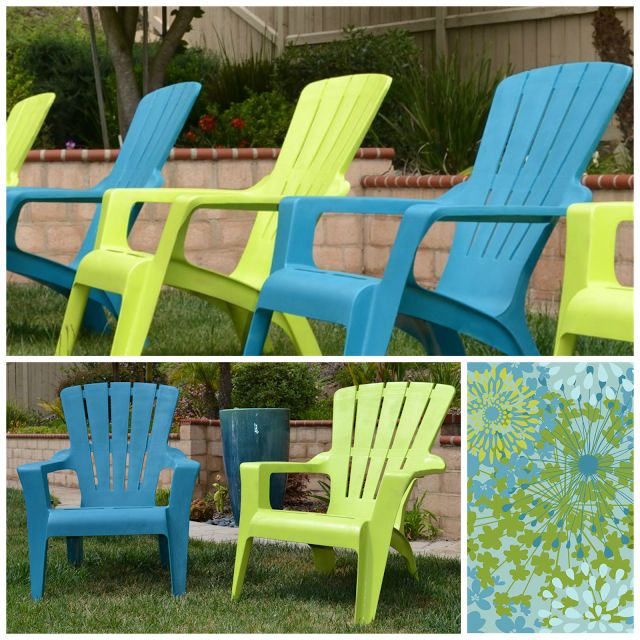 17 best images about spray paint on pinterest acrylics glass vase and patterned chair Painting plastic garden furniture
