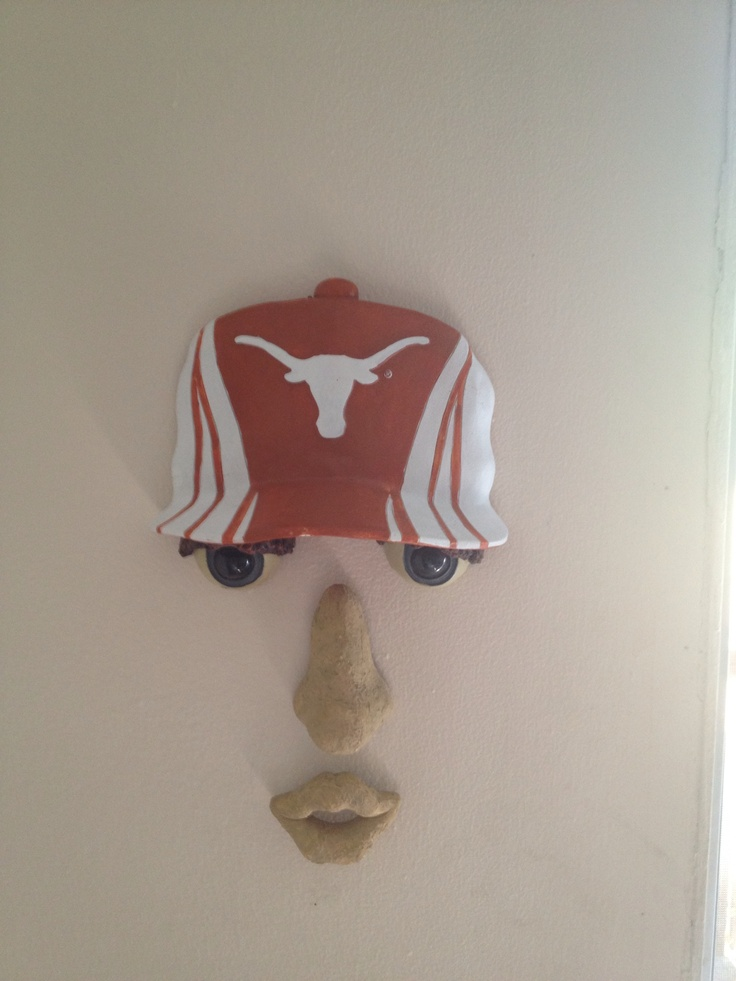 A true fan.... Hook'em Horns!