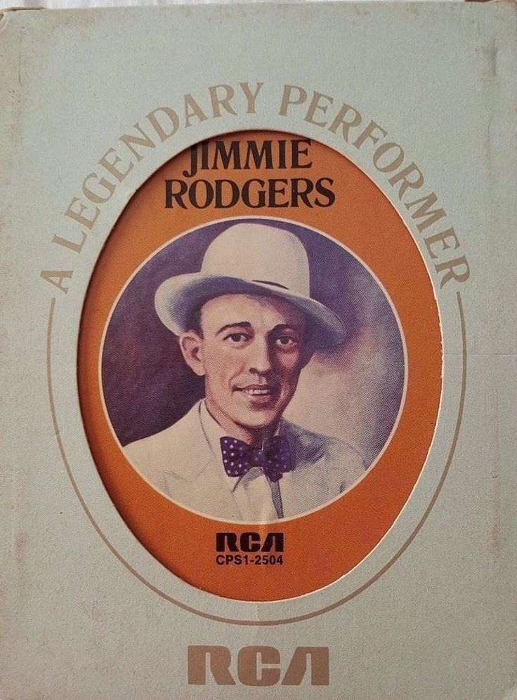 Jimmie Rodgers 8 TRACK TAPE Legendary Performer Blue Yodel No 1 1927-33 10 Songs #EarlyCountryHonkyTonkNashvilleSoundTraditionalCountry
