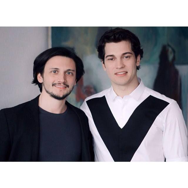 New Çağatay Ulusoy with Producer of GQ Turkey