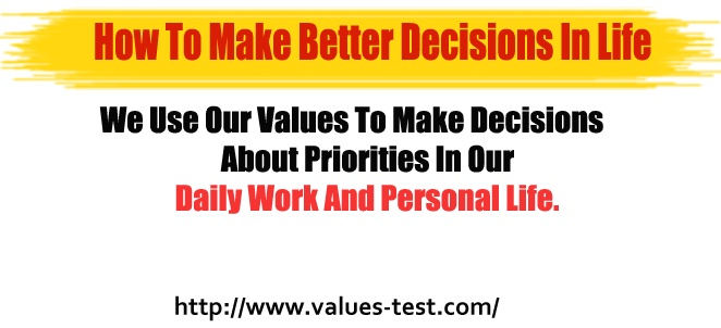 How to Make Better decisions in life