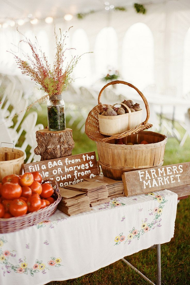 bridal shower gift ideas for bride philippines%0A Brilliant take home gift  Fill the bag with fresh product for country  themed wedding