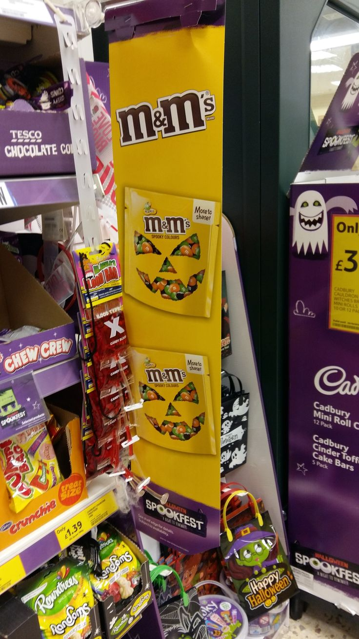 halloween 2015 tesco spookfest mms - Mms Halloween