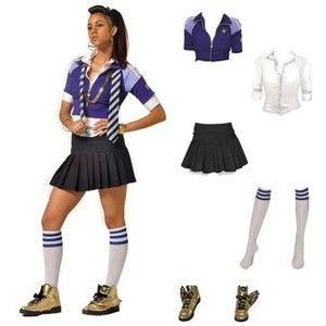Dress like st trinians style