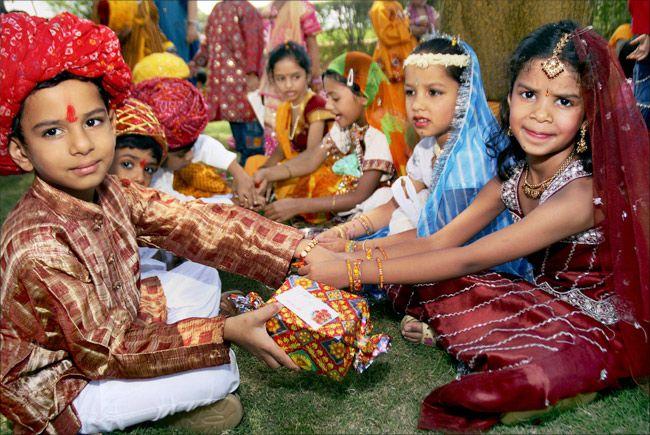 Rakhi Festival Date 2018 celebration Rajasthan India