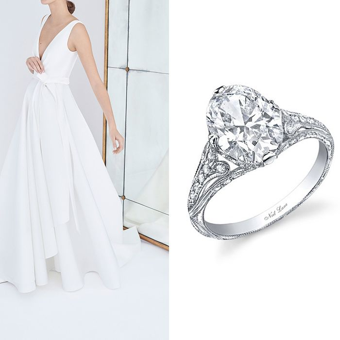 The Perfect Engagement Rings To Compliment This Season S Wedding