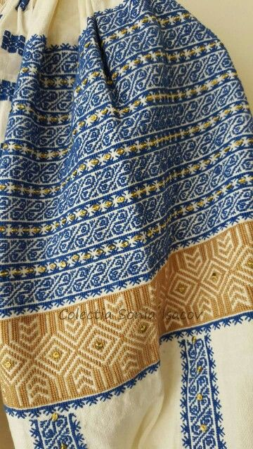 Romanian blouse detail. Sonia Isacov