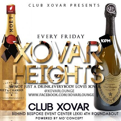 Xovar's Night Club...starts by 10pm Saturdays.