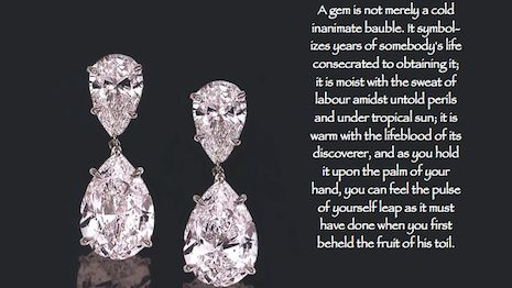Thoughts on diamonds  Many facets of diamonds  By Raymond Hakimi  Most diamonds are sold through retail stores at very high profit margins. It is difficult for consumers and investors to buy wholesale prices. Polished diamonds at wholesale prices are 30 percent to 50 percent lower than retail.  Many people assume that diamonds are rare and precious. Men always want to know what a diamond is worth when buying an engagement ring. It is arguably worth nothing but logic invented primarily by…