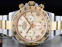 Rolex - Cosmograph Daytona 116523 Cassa: acciaio/oro - 40 mm Vetro: zaffiro Quadrante: madreperla - numeri romani Bracciale: oyster Chiusura: oysterclasp Movimento: automatico