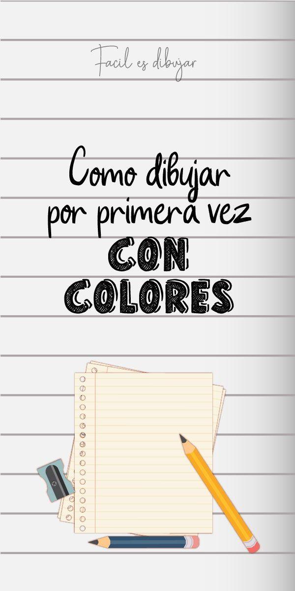 Como Empezar A Dibujar Con Lapices De Color Facil Es Dibujar Como Aprender A Dibujar Lapices De Colores Clases De Dibujo