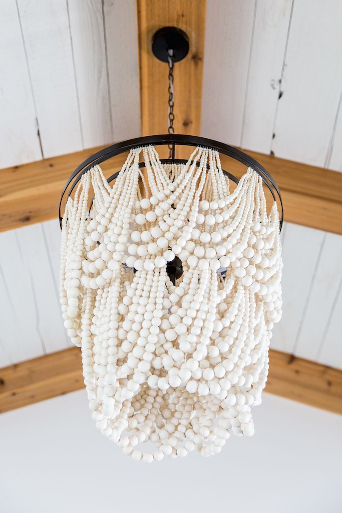 Best 25 beaded chandelier ideas on pinterest bead chandelier becki owens heber house project master bedroom a fresh space with warm rustic accents wood bead chandelierchandelier mozeypictures Images