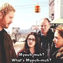 Made me laugh b/c I cannot pronounce Mjolnir no matter how hard I try