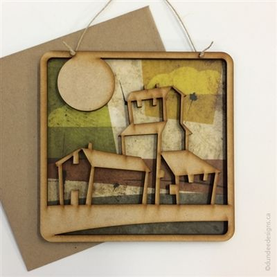 Elevator - Greeting Card/Wall Art by Shirley Lloyd-Davies, Dundee Designs Inc.