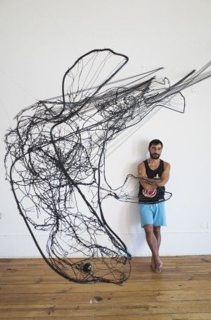 Intricate Wire Sculptures By David Oliveira | iGNANT.de
