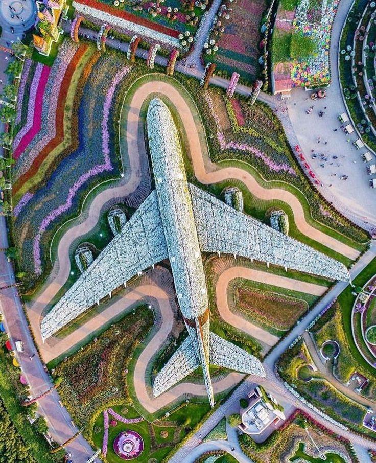 حديقة معجزة Dubai Miracle Garden is a flower garden