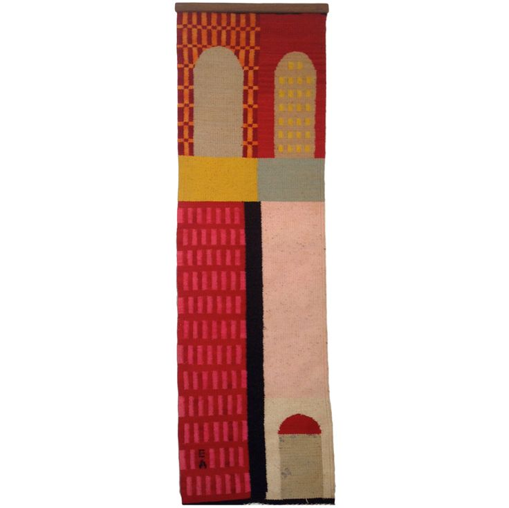 "Evelyn Ackerman Wall Hanging. ""Windows"" 1970"