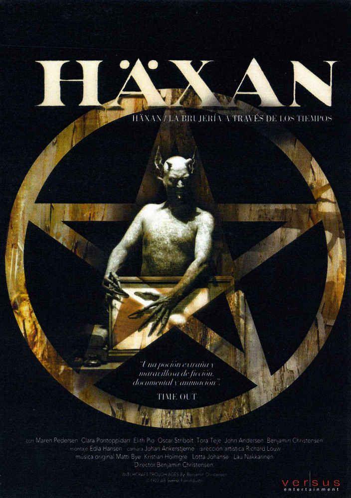 Häxan: la brujería a través de los tiempos (1922) Suecia. Dir: Benjamin Christensen. Documental. Terror. Antropoloxía. Relixión. Feminismo - DVD CINE 1155