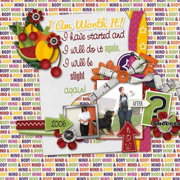 YES I CANTemplatePack  EnjoyTheDay by ColiesCorner http://store.gingerscraps.net/-Enjoy-the-Day-Template-Set.html Scrapkit Mind&Body by ConniePrince http://store.gingerscraps.net/Mind-and-Body-Kit.html Photos by kpmelly