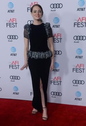 On the red carpet at AFI Fest in Hollywood – @UPI Photos