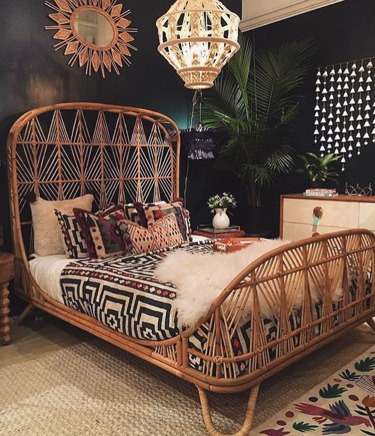 I am obsessed   jungalow inspired bedroom