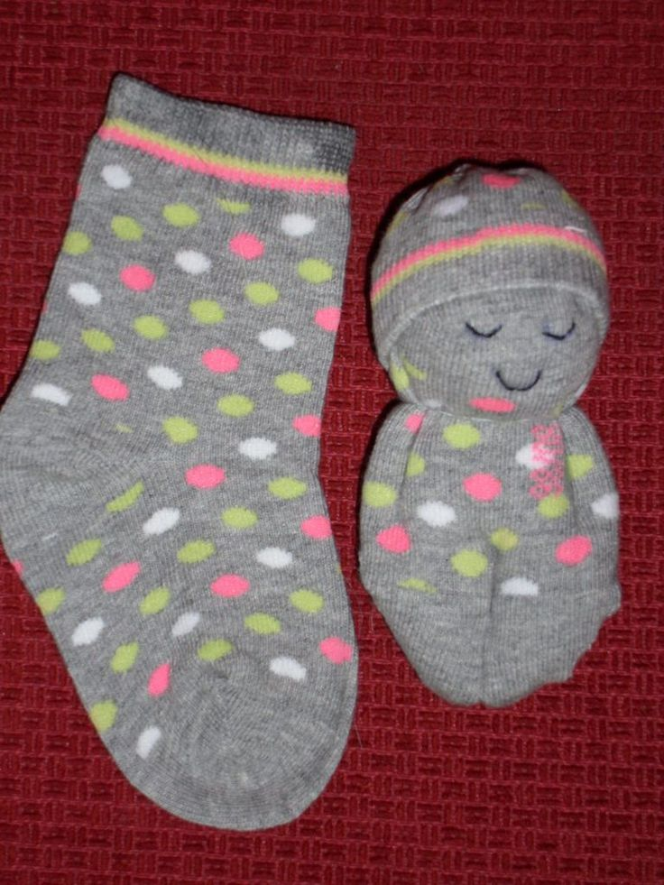 My second sock doll! | February 2011 | Mirjam Persons | Flickr
